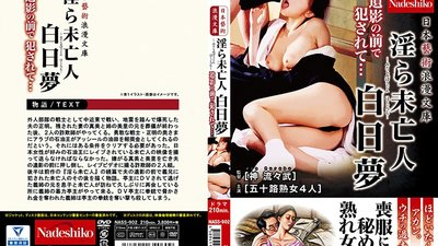 NASS-902 Japanese Art Romantic Library Filthy Widow Daydream Violated In Front Of Late Husband's Picture