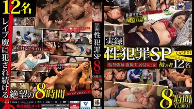 BAK-023 Actual Sex Crimes Case 1: 8 Hours Of Women Raped Into Submission