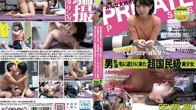 KORE-0001 Hikaru Minazuki (Age 20) Provides A 120% Private Unscripted Performance After Going To Play At Her Male Friends Apartment! Secretly Monitor The Real Everyday (Sex) Life Of These Unbelievable